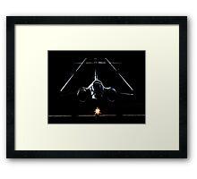 Buccaneer in the Shadows Framed Print