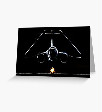 Buccaneer in the Shadows Greeting Card