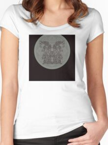 hieroglyphic 1 Women's Fitted Scoop T-Shirt