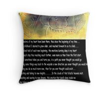 *DESIRES...A Joint Colloboration with my friend Bonita* Throw Pillow
