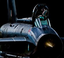 Lightning XR728 in the shadows by captureasecond