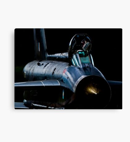 Lightning XR728 in the shadows Canvas Print