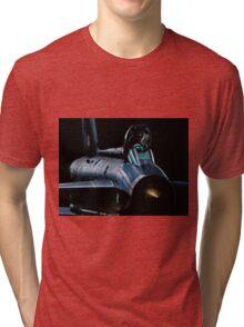 Lightning XR728 in the shadows Tri-blend T-Shirt