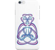 Buda blue/rose iPhone Case/Skin