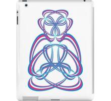Buda blue/rose iPad Case/Skin