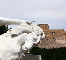 Crazy Horse Memorial ll by Julie's Camera Creations <><