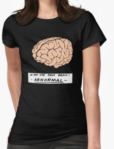 Abby Normal (Young Frankenstein) Womens Fitted T-Shirt