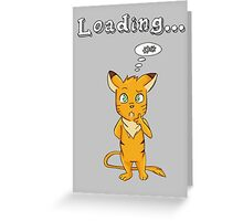 Loading Greeting Card