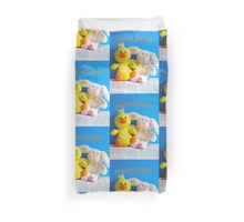 Happy Easter Chick & Bunny Duvet Cover