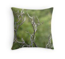 Gnarled Tree. Throw Pillow