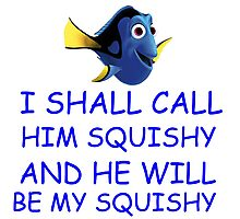 I SHALL CALL HIM SQUISHY Photographic Print