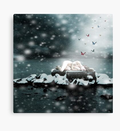 The Ice Maiden Canvas Print