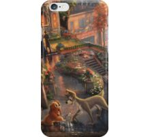 Disney Lady and The Tramp Disney Valentine Dogs iPhone Case/Skin