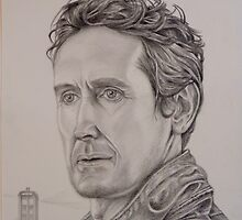 Paul McGann as Doctor number 8 by Brian Heath
