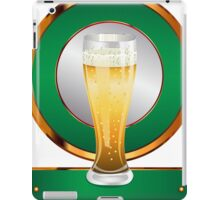 Glass of beer 2 iPad Case/Skin