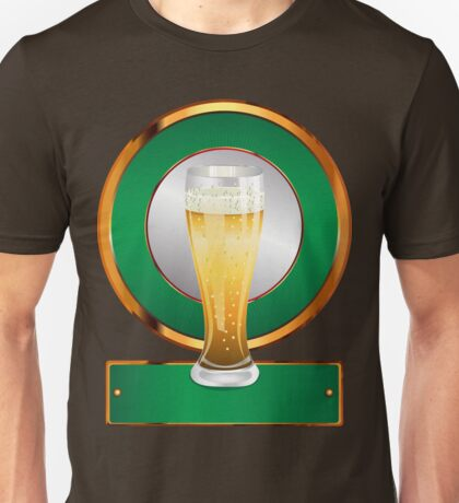 Glass of beer 2 Unisex T-Shirt