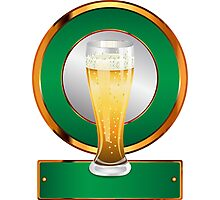 Glass of beer 2 Photographic Print