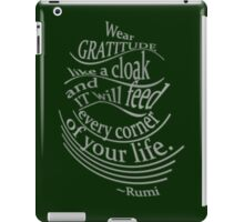 another colour of this RUMI quote iPad Case/Skin