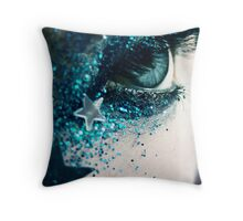 Glitter Me Pretty Throw Pillow