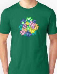 vivid flowers Unisex T-Shirt