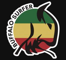 Buffalo Surfer Rasta Circle Text WS Kids Clothes