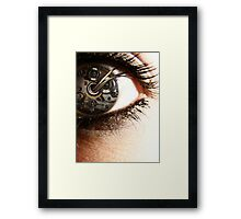 Clockwork Perspective Framed Print