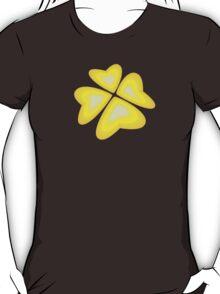 yellow heart flower T-Shirt