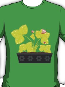 Strawberry in Flower Pot T-Shirt