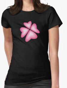 pink heart flower T-Shirt