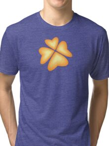 orange heart flower Tri-blend T-Shirt