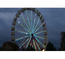 South Bank Ferris Wheel Photographic Print