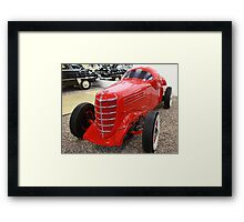 motor show hot rod  Framed Print