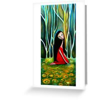 Little Red Greeting Card
