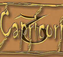 Capricorn, zodiac sign by Robert Elfferich