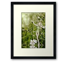 White Elf - a collaboration with Rose Moxon Framed Print