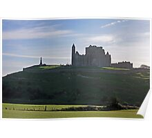 Rock of Cashel evening view Poster