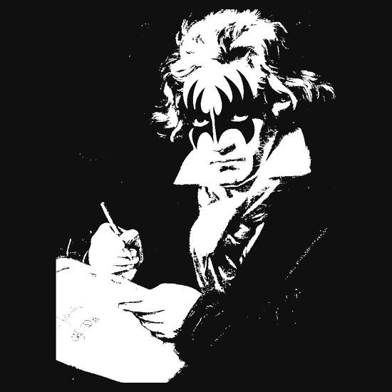 TShirtGifter presents: Beethoven rocks!