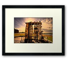 Underneath The Arches - Cockatoo Island - The HDR Series Framed Print