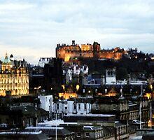 Edinburgh Skyline by Linda More