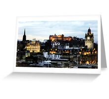 Edinburgh Skyline Greeting Card
