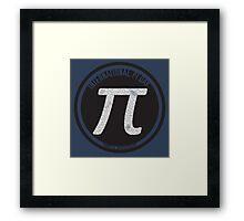 Pi Day 2015 - The Ultimate Pi Framed Print
