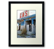 Metro Gas:  The Station Framed Print