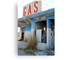 Metro Gas:  The Station Canvas Print