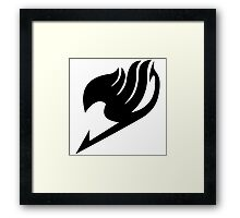 Fairy Tail - Fairy Tail Guild Symbol Framed Print