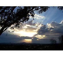 Canobolas Sunset Photographic Print