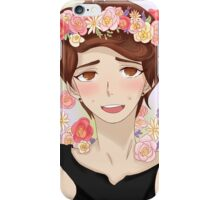 Dan with flower crown iPhone Case/Skin