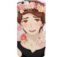 Dan with flower crown iPhone Case/Skin