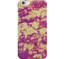 """Forest Fire No.3"" original abstract artwork by Laura Tozer iPhone Case/Skin"