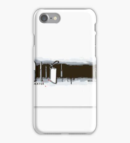 Dexter x MacGyver iPhone Case/Skin