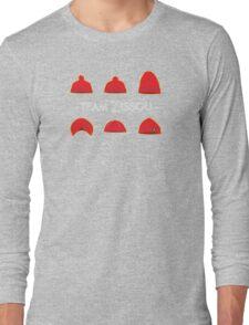Hats of Team Zissou Long Sleeve T-Shirt